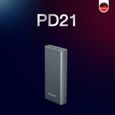 Yoobao พาวเวอร์แบงค์รุ่น PD21